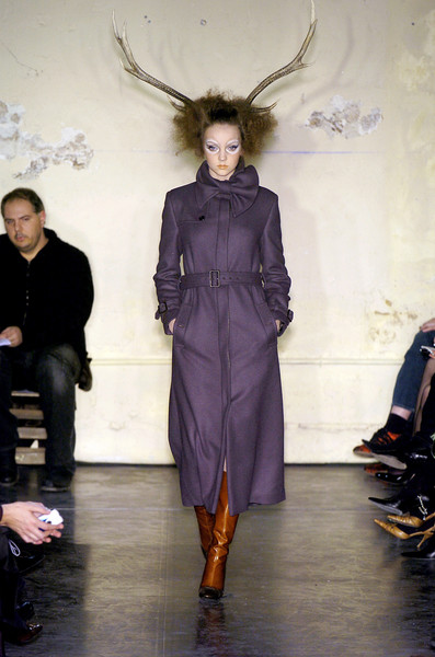 Viktor & Rolf at Paris Fall 2004
