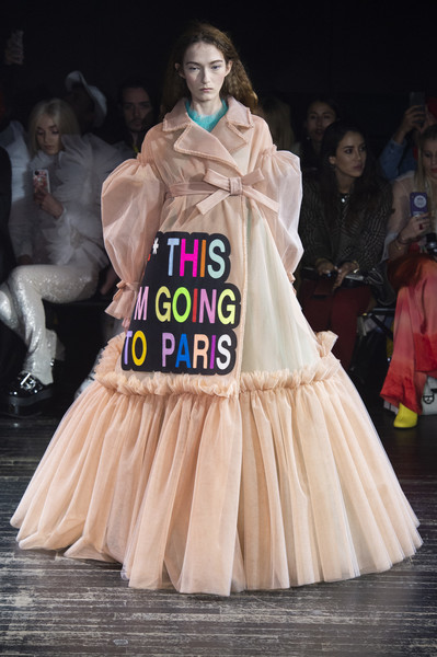 Viktor & Rolf at Couture Spring 2019