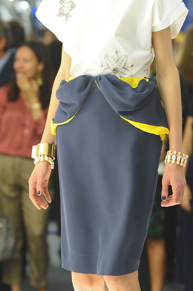 Vionnet at Paris Spring 2012 (Details)