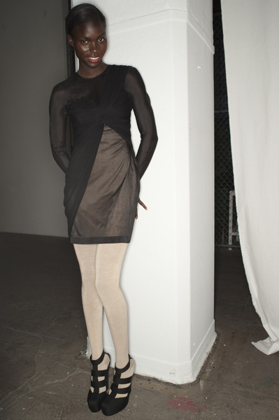 Willow at New York Fall 2010 (Backstage)