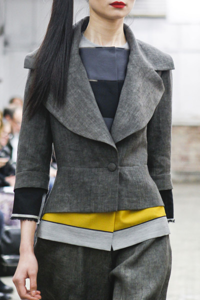 Yeohlee at New York Fall 2013 (Details)