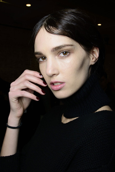 Yigal Azrouël at New York Fall 2014 (Backstage)