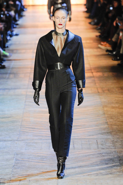 Yves Saint Laurent at Paris Fall 2012
