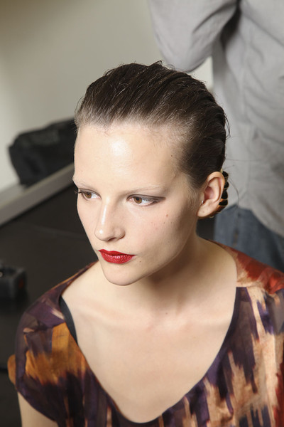 Yves Saint Laurent at Paris Spring 2012 (Backstage)
