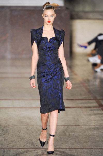 Zac Posen at New York Fall 2012