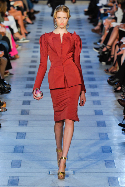 Zac Posen at New York Spring 2012
