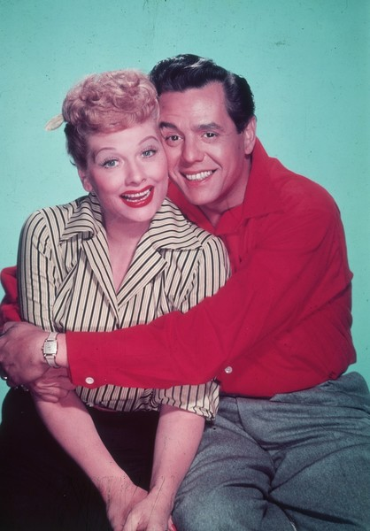 Lucy and Ricky in 'I Love Lucy'