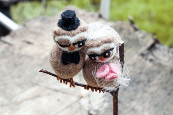 Felted Couple