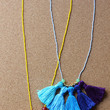 DIY Ombre Tassel Necklace