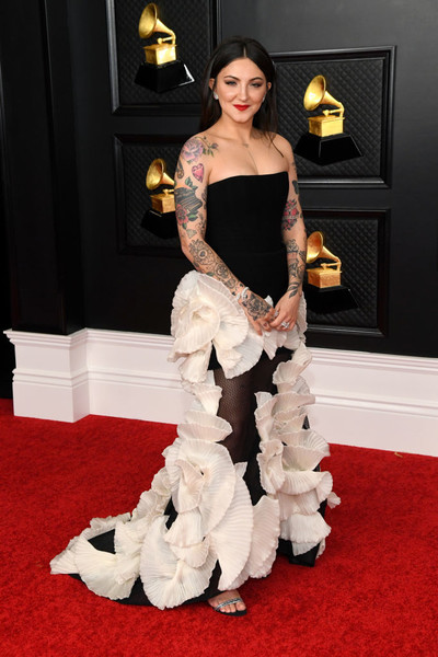 Julia Michaels At The 2021 Grammy Awards