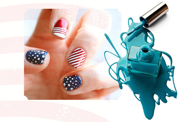 Patriotic Nails to Celebrate the Fourth of July