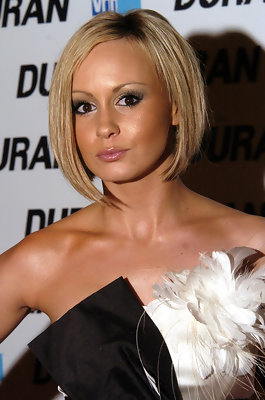 Chanelle Hayes' Reverse Bob Haircut