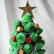 Christmas Tree Cupcake Tower