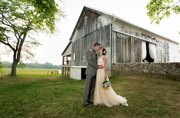 Hidden Vineyard Wedding Barn in Berrien Springs, Michigan