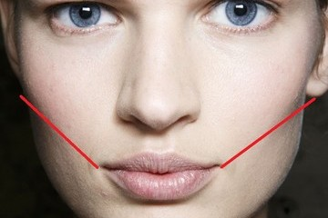 Makeup Tip: Make a Contouring Face Map