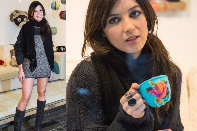 Knitting Classes London : Knitting with daisy lowe celebrity style livingly