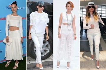 Easy Outfit Upgrade: Pile On Your Summer Whites