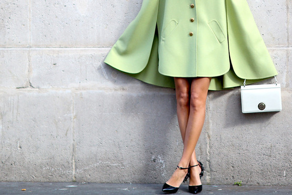 What to Wear: With a Colorful Coat