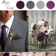 Deep Plum and Greys