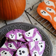Halloween Ghost Chocolate Bark