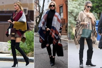Trend to Try: Oversized Wraps