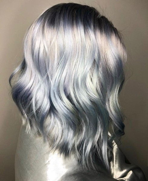 Ghosted Hair Color