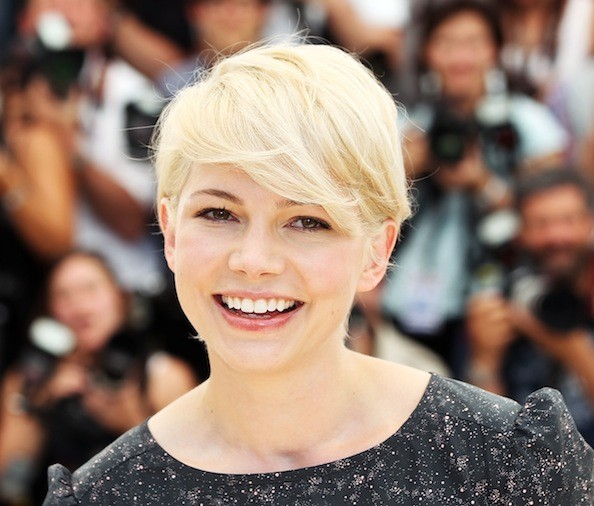Short Wedding Hairstyles Michelle Williams Hair Hollywood