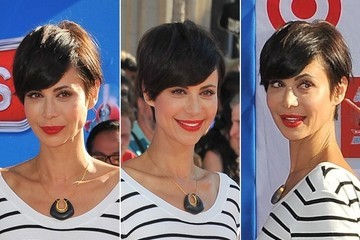 3 Reasons Why We're in LOVE With Catherine Bell's Cute New Cropped Haircut