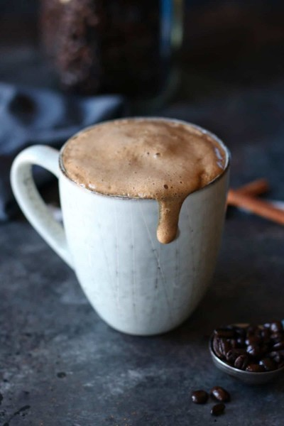 Try A Cinnamon Coconut Latte