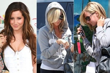 Ashley Tisdale Goes Back to Blond
