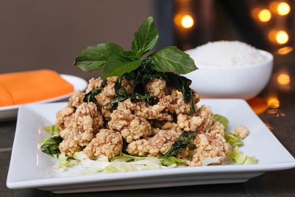 SALT & WHITE PEPPER CRISPY CHICKEN – DanDan (Philadelphia)