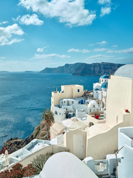 Instead of: Santorini, Greece