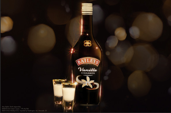 New Baileys Vanilla Cinnamon, The Most Stylish Shot of the Night