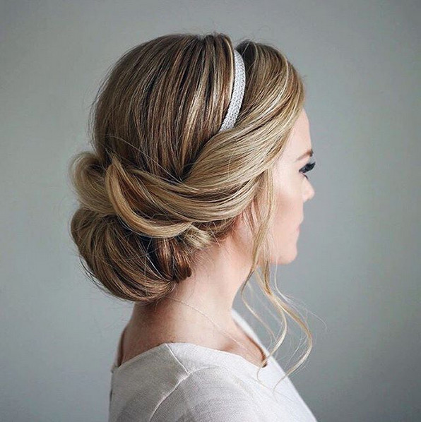 Elegant Wrapped 'Do