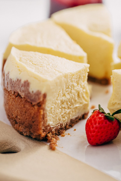 Make cheesecake