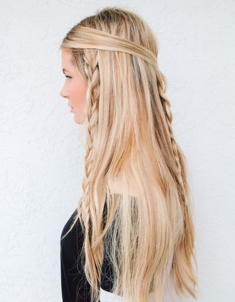 Hippie Braids We Found The 21 Best Lazy Girl Hairstyles On