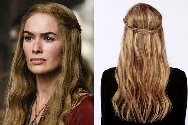 of thrones hair style cersei s braided crown of thrones inspired 3902