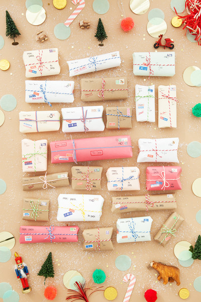 Try A Vintage Mail Advent Calendar