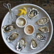 Oysters at The Woodsman Tavern