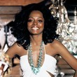 Diana Ross in White Cutouts