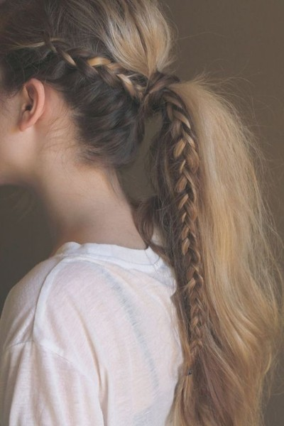 We Found the 21 Best Lazy Girl Hairstyles on Pinterest, So You Don't Have To