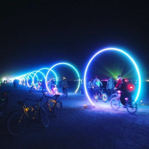The Sonic Highway At Burning Man