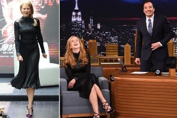 Seeing Double: Nicole Kidman Loves Her LBD On and Off Screen