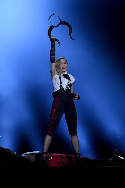 Making A Statement While Performing At The 2015 BRIT Awards