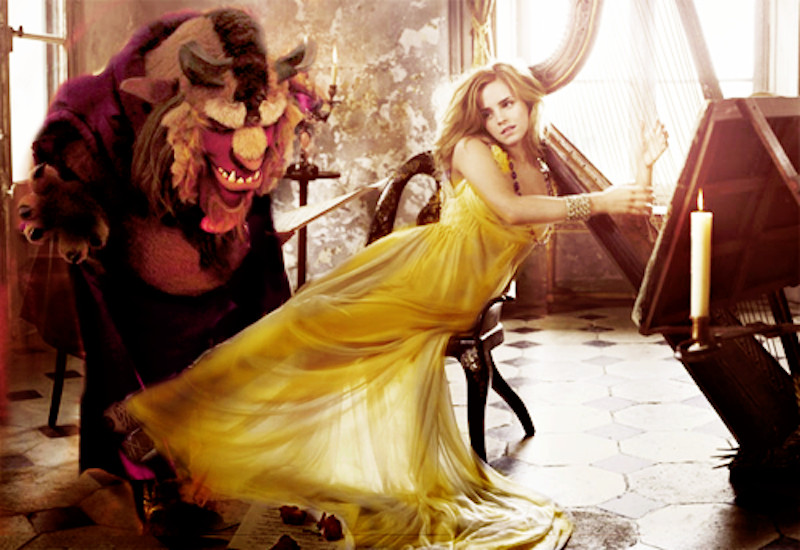 Emma Watson As Belle In Disneys Upcoming Live Action Film