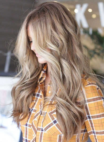 Dirty Blonde Color