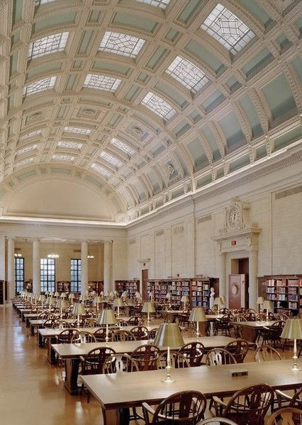Widener Library at Harvard University, Massachusetts