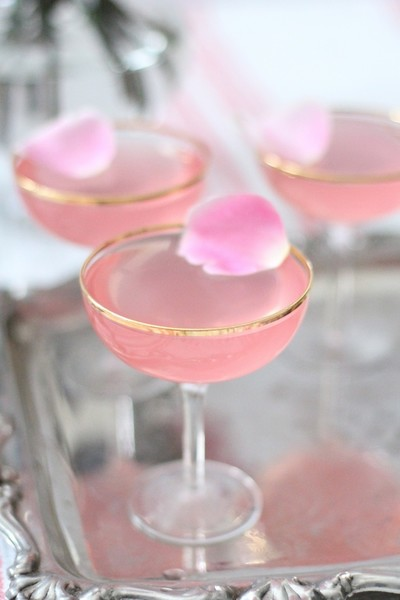 Whip Up Rose Martinis