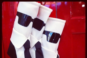 BEHOLD: The Karl Lagerfeld Christmas Stocking