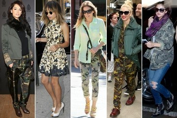 Can Camo Be Chic? Celebs Think So. Weigh in!